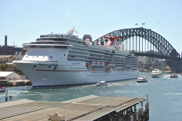 carnival legend sails out of sydney cruise weekly